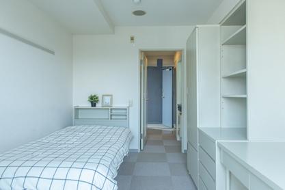 すべてが家具付の完全個室です。